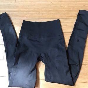Lululemon Zone in black leggings